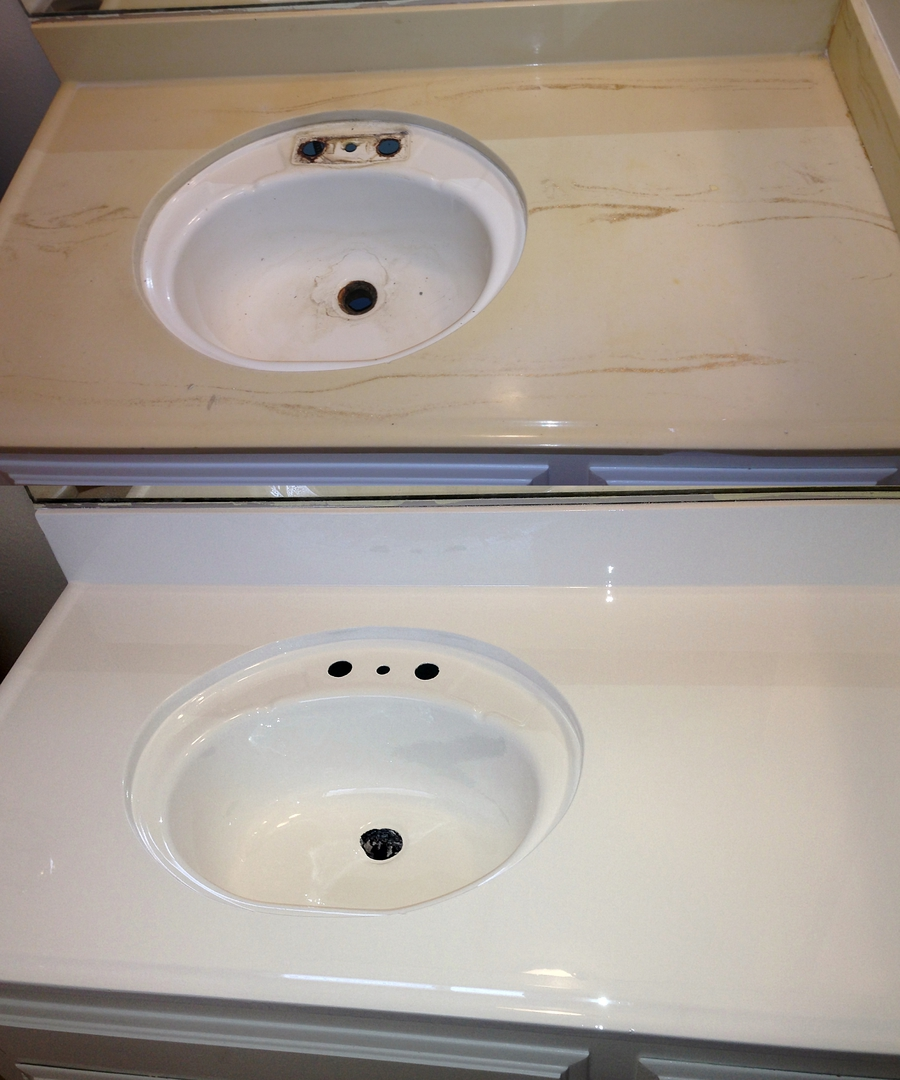 Bathroom And Kitchen Sink Reglazing