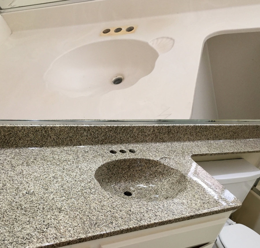 Kitchen Bathroom Sink Reglazing Are Available In Any Solid Color And Speckled Finishes
