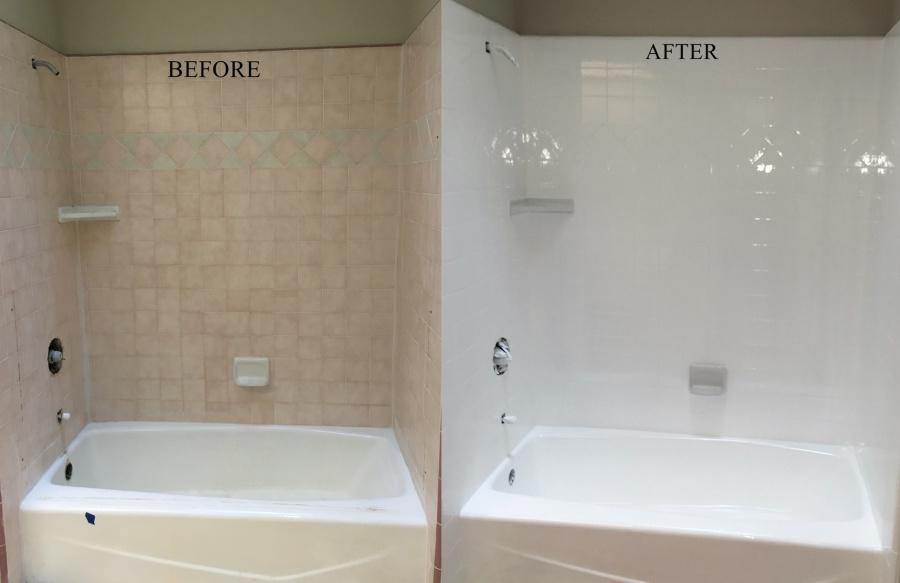 Porcelain Bathtub U0026 Tile Reglazing